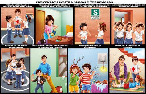 imagenes para colorear que hacer en caso de sismo dibujos para colorear de que hacer en caso de sismo imagui