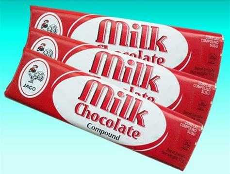 Coklat Milk Ayam Jago kue dan permen cokelat tempo dulu dunia afrina