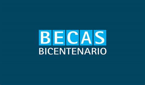 programa nacional de becas bicentenario beca bicentenario convocatoria 2017