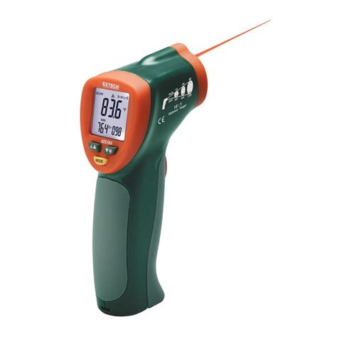 Thermometer Laser klein tools 12 1 infrared digital thermometer ir1000 the home depot