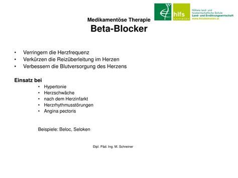 wann wirken betablocker ppt hypertonie powerpoint presentation id 3084105
