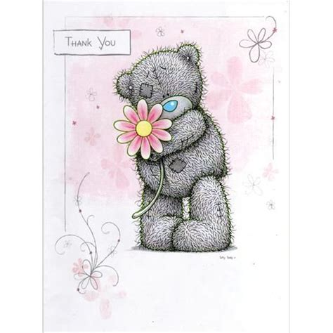 From Me To You Gift Card - thank you me to you bear card a01ls036 me to you online the tatty teddy