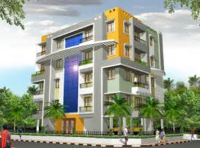 Apartment Design Exterior Architectural Home Design By Vimal Arch Designs Category