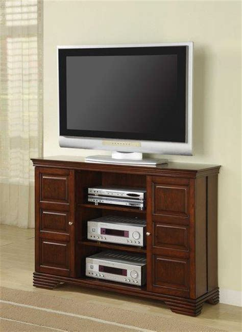 Small Media Shelf by Small Media Storage Console Classic Wood Tv Stand