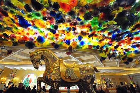 bellagio las vegas new year the quot year of the tiger quot new year display at the