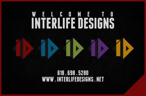 interlife designs fully customizable website graphic