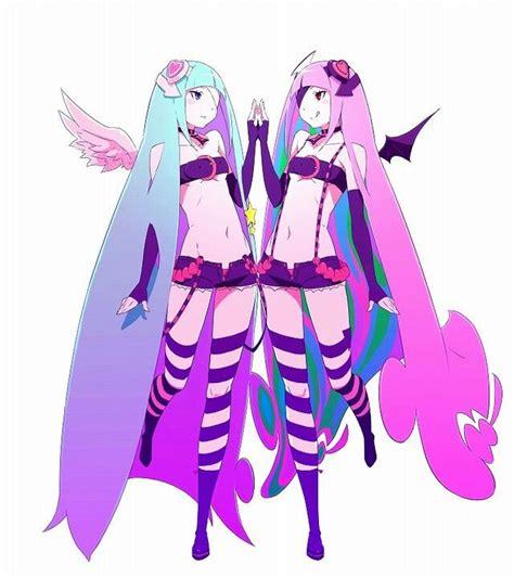 Gamis 33866 Medyana Pink Syari anime pink blue hair a n i m