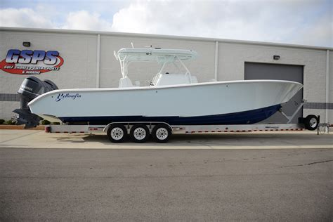 yellowfin boats models new 39 yellowfin 2014 model triple f350 s the hull