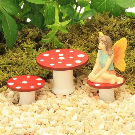 toadstool table and chairs fairy toadstool table and stool set handmade by jennifer