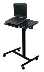 Portable Laptop Desk New Portable Notebook Laptop Rolling Table Cart Tv Stand Tiltable Tabletop Desk Ebay