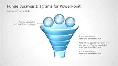 funnel diagram powerpoint template funnel analysis diagram design for powerpoint slidemodel