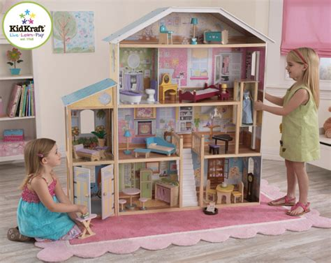 Kidkraft Majestic Mansion Dollhouse With Furniture by Kidkraft Model Dollhouse W 11 Pieces Of Furniture