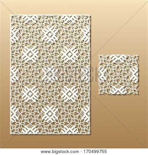 wood pattern card stock laser cut vector panel seamless vector photo bigstock