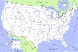 Us Map Labeled Us Map With Rivers Labeled Submited Images