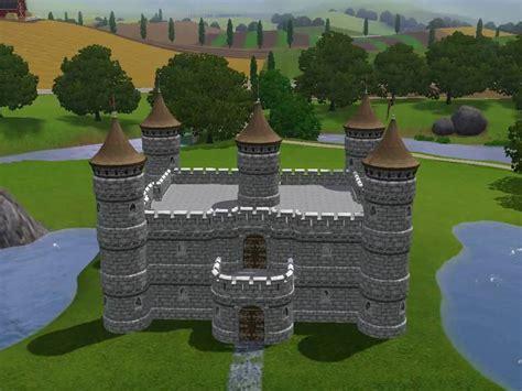 Small Castle Floor Plans sims 3 castle builder kit youtube