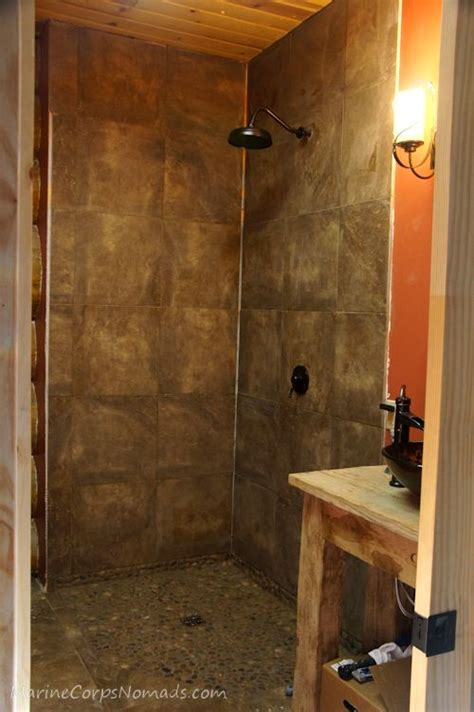 cabin update shower marine corps nomads