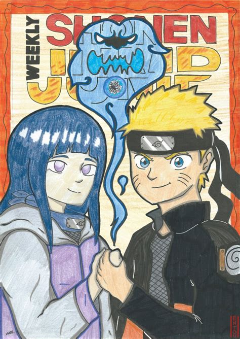shonen jump competition shonen jump cover competition entry by entou on