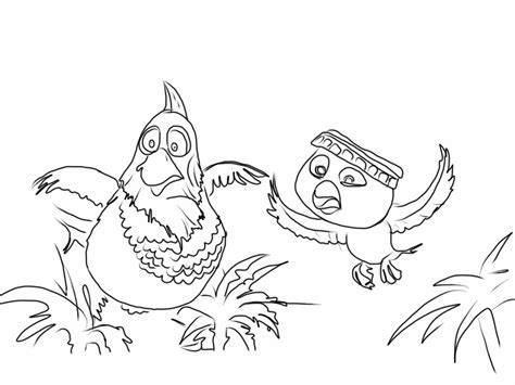 rio birds coloring pages free coloring pages of rio characters