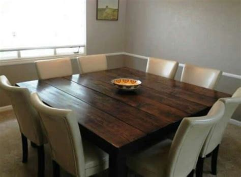 8 seat dining room table top 16 awesome images 8 seat square dining room table dining decorate