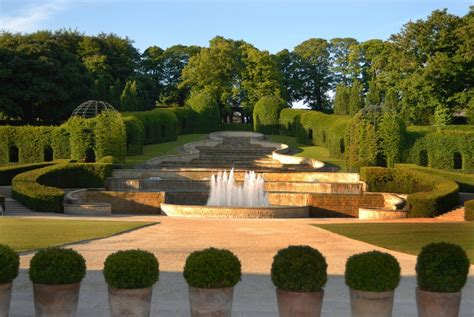 alnwick garden in alnwick northumberland it s easy to do superlatives at the world s most