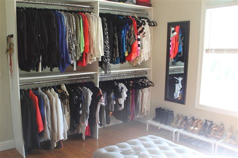 how to turn a bedroom into a closet a bedroom into a closet before after brit s closet
