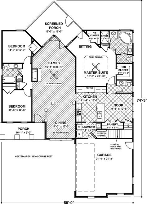 14 Best Images About House Plans On Pinterest Country House Plans With No Dining Room