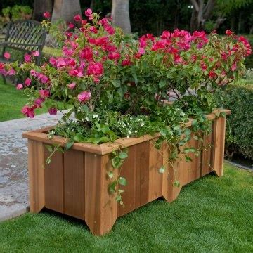 Pretty Planters by Pretty Cedar Planters Planters And Outdoor Ideas