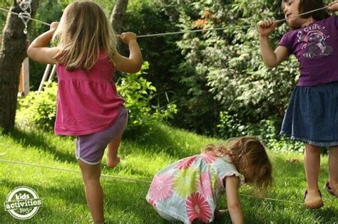 backyard tightrope 6 at home c ideas for kids familyeducation