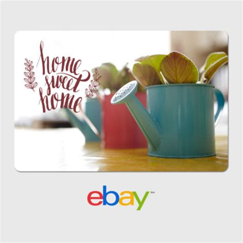 How To Apply Ebay Gift Card - ebay digital gift card house warming designs email delivery ebay