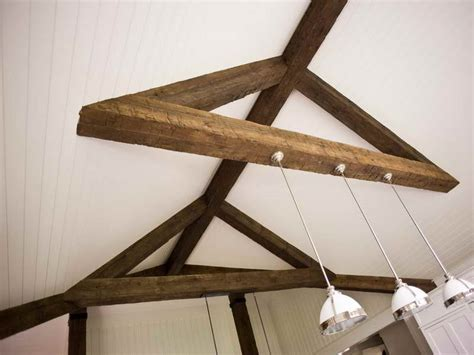 roofing how to install faux ceiling beams beam ceilings