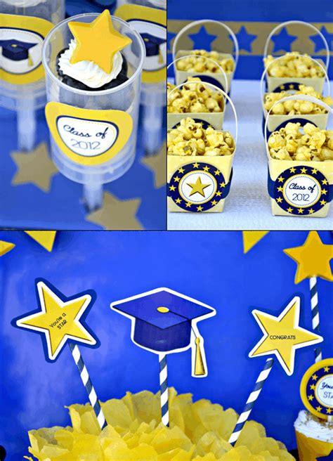 free printable graduation party decorations kara s party ideas graduation party free printables