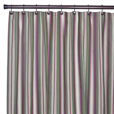 ellis curtains ellis curtain montego stripe bathroom shower curtain in