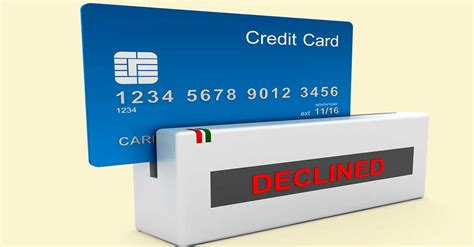 Your Credit Card Was Declined Letter avoid getting your credit card declined bottom line inc