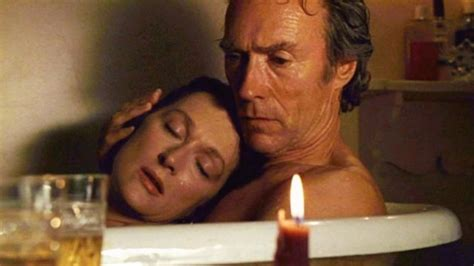 bridges of madison county bathtub scene 20 baci da film i baci pi 249 belli nel cinema
