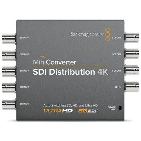 blackmagic format converter blackmagic design mini converter sdi distribution 4k