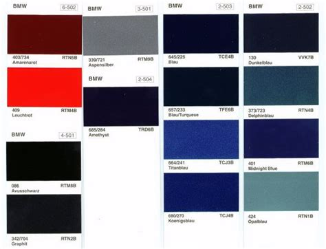 bmw motorcycle paint color chart car interior design