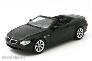2007 black bmw 645i diecast model car diecast model cars