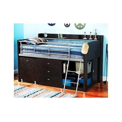 childrens bunk bed storage cabinets twin loft bed w desk kids bedroom furniture set babies