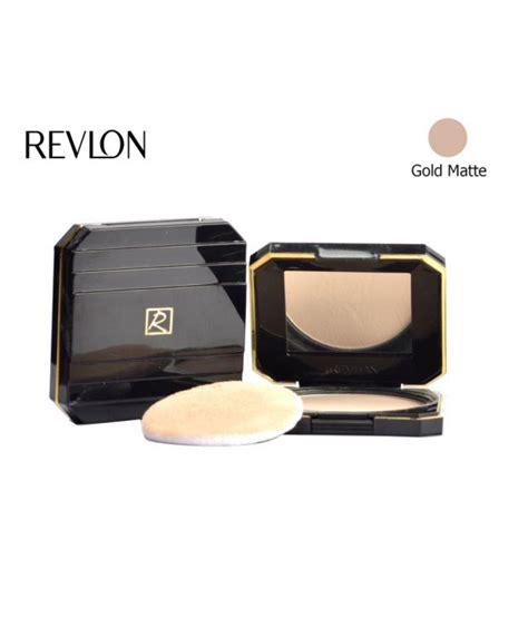 Revlon Touch And Glow Powder revlon touch and glow moisturising powder gold matte