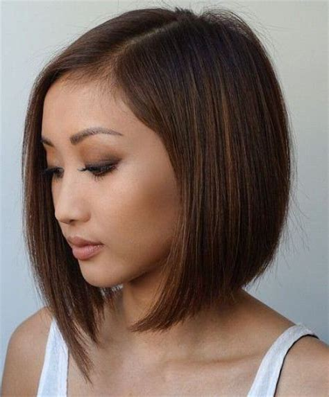 hairstyles short on an angle towards face and back angled away from face hairstyles celebrity long angled