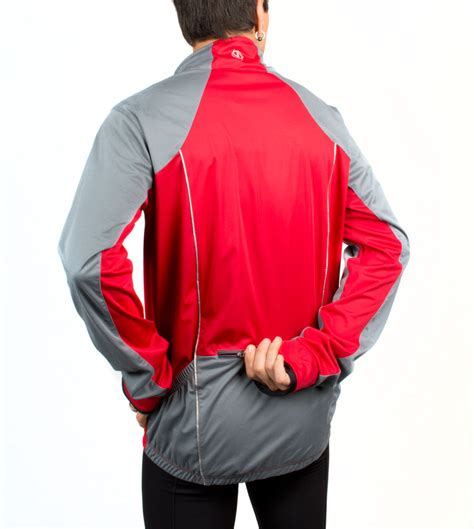 reflective bike jacket men s illuminite men s portland reflective cycling jacket