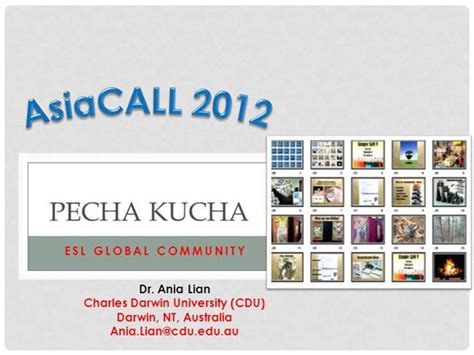 Pecha Kucha Template Powerpoint pecha kucha in esl authorstream