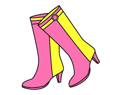 imagenes navideñas de botas animadas dibujo de botas altas pintado por carmenlouy en dibujos