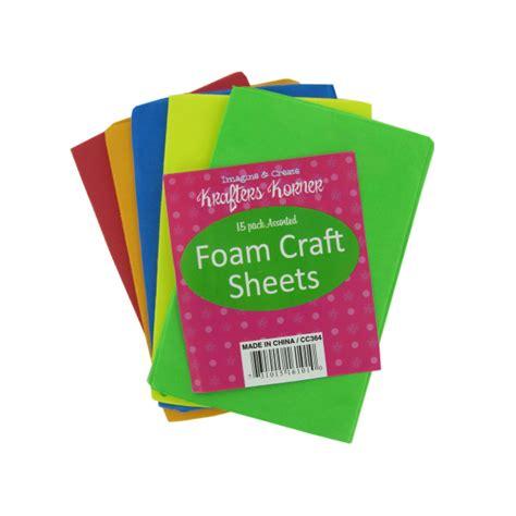 foam crafts foam craft sheets