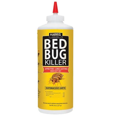 bed bug powder diatomaceous earth harris bed bug diatomaceous earth powder 8oz new ebay