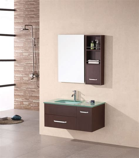 Modern Wall Mounted Bathroom Vanities Wall Mounted Vanities Contemporary Bathroom Vanities And Sink Consoles Chicago By