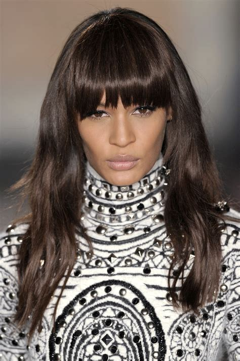 styling heavy bangs 50 haircuts to copy right now stylecaster