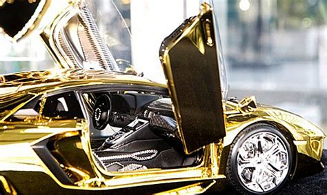 platinum lamborghini 7 5m scale model of lamborghini aventador is fashioned
