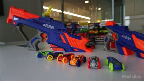nerf car shooter nerf s newest blasters shoot foam cars not darts