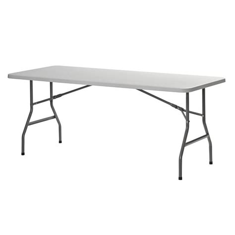 White Folding Tables by Sandusky White Folding Table Pt7230 The Home Depot